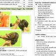 Kursus Salon Kecantikan – Pahe 4 : Rp 2,500.000 MAKE UP & HAIR DO : Cara Merapikan Alis 53 Make Up Diri. 54 Make Up Cantik sehari-hari 55 Make Up Pesta […]