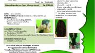 Kursus Salon Kecantikan – Pahe 1 : Rp 2,500.000– Pengguntingan Rambut :– Haircut Horizontal Style– Haircut Oval Style– Haircut Long […]